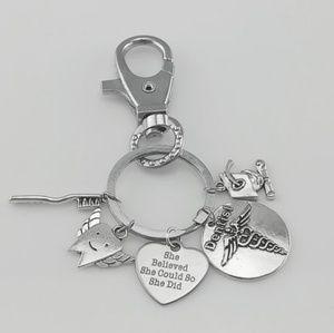 New dentist graduation keychain